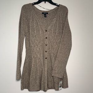 Sweaters - Style & Co NWT Oatmeal Color Tunic Sweater